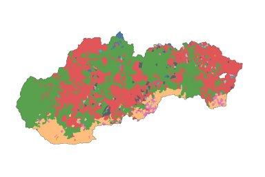 Slovensko - výsledky voleb 2020