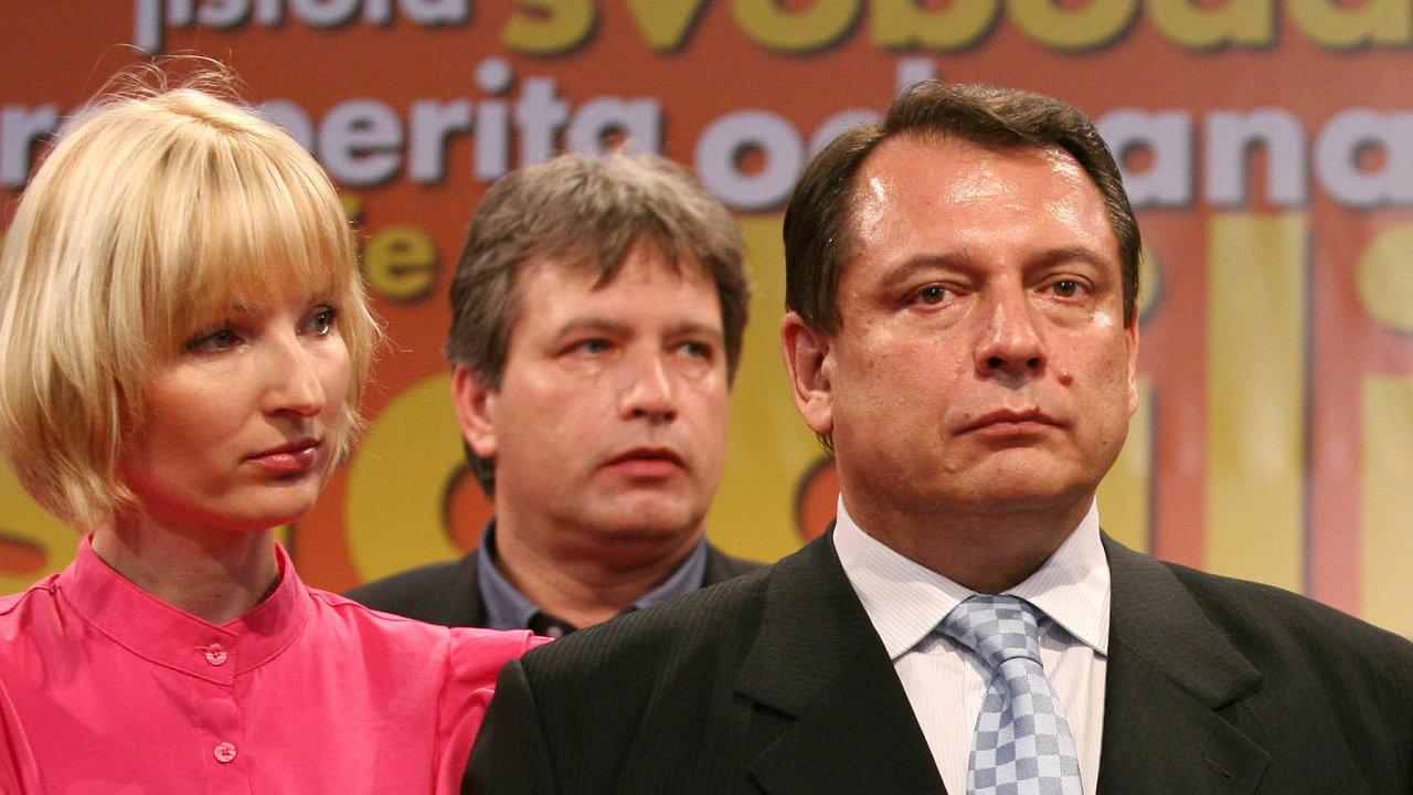 Někdejší šéf ČSSD Jiří Paroubek