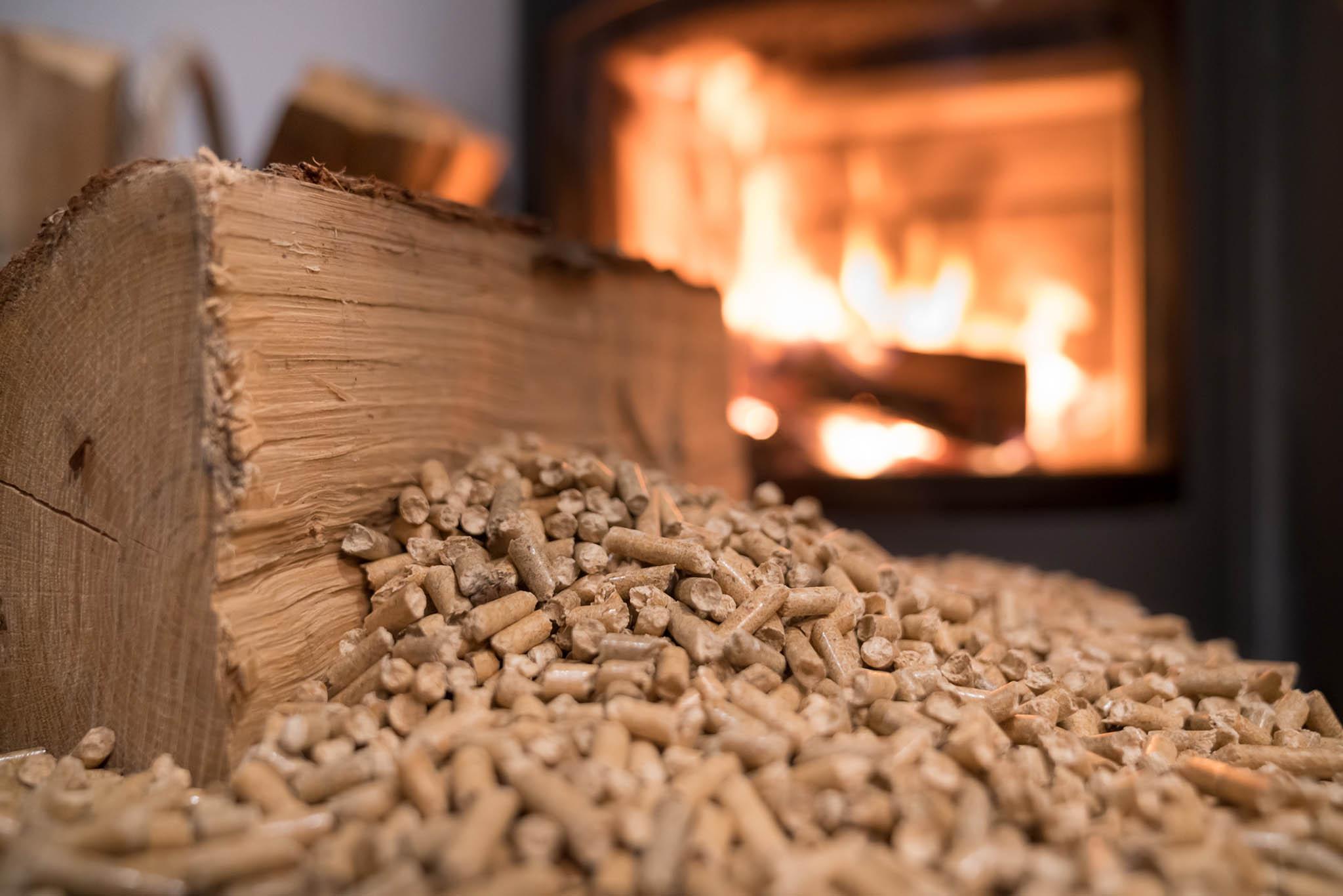 Pelety jsou dobroualternativou ke dřevu.