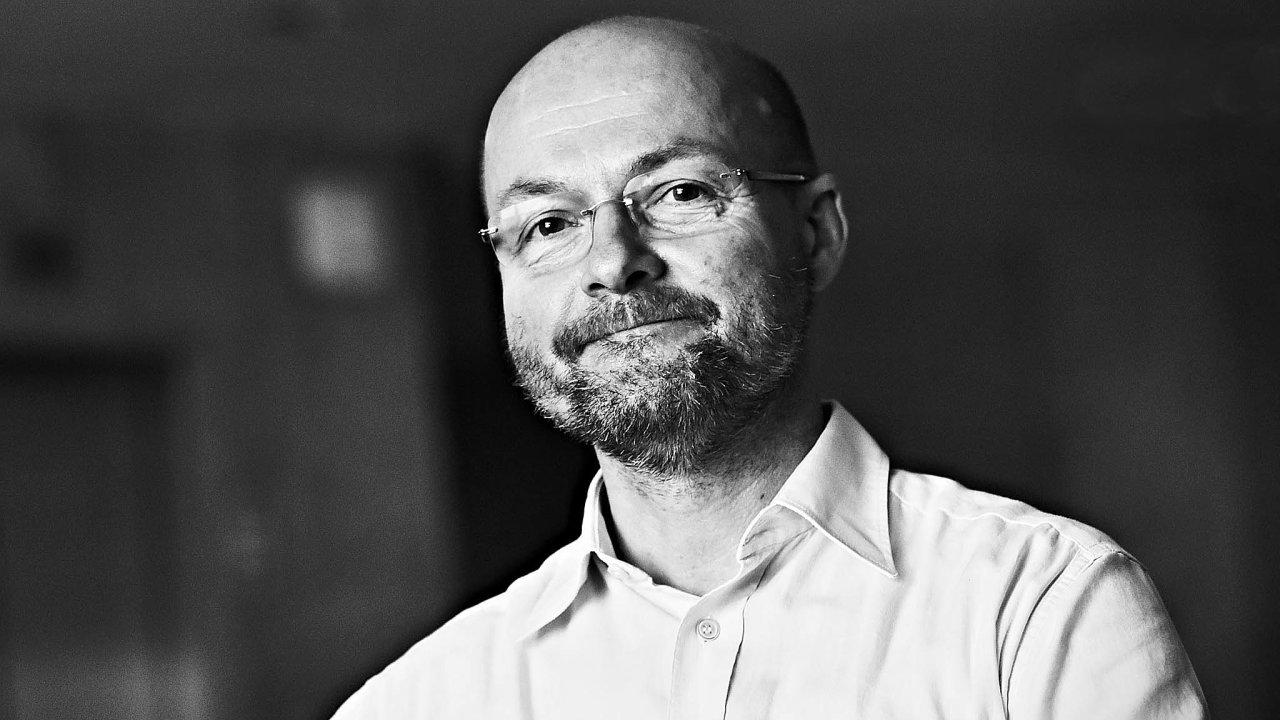 Skladatel Aleš Březina.