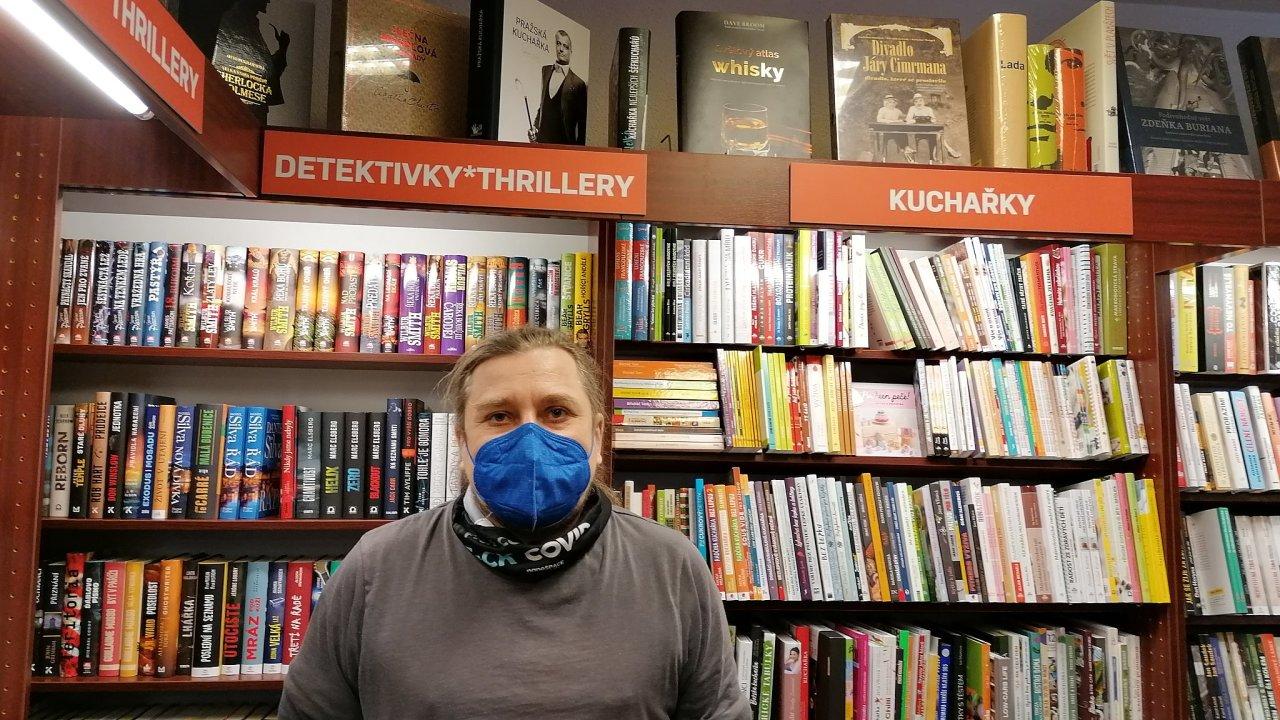 Dan Kruml, knihkupec, Vrchlabí