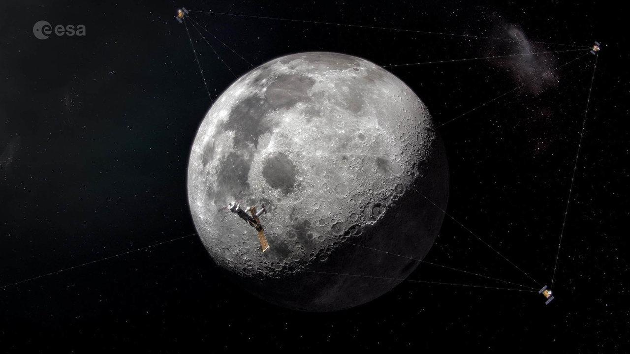 Projekt Moonlight počítá nejméně se třemi navigačními satelity, jež by měly obíhat okolo Měsíce anavádět například lunární vozítka.