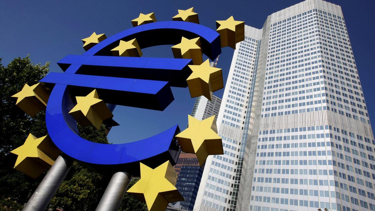 Evropská centrální banka ve Frankfurtu na Mohanem