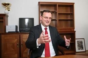 Lídr ODS Petr Nečas