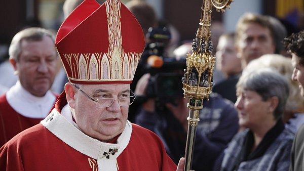 Arcibiskup Dominik Duka na národní pouti ve Staré Boleslavi.