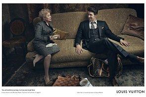 Dvě sportovní legendy v reklamě: Phelps a Latyninová fotili pro Louis Vuitton