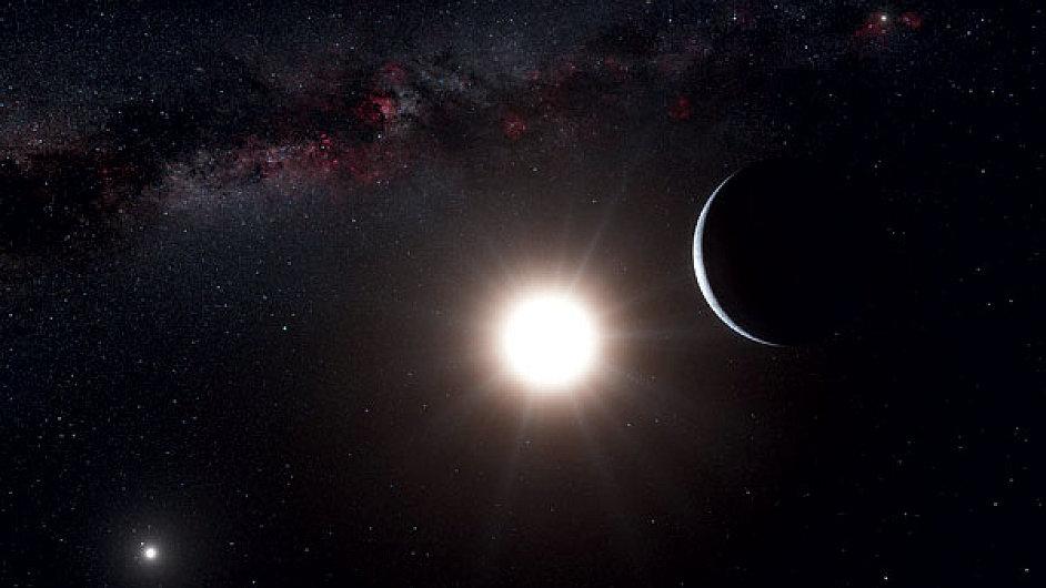 Vesmír, ilustrační foto