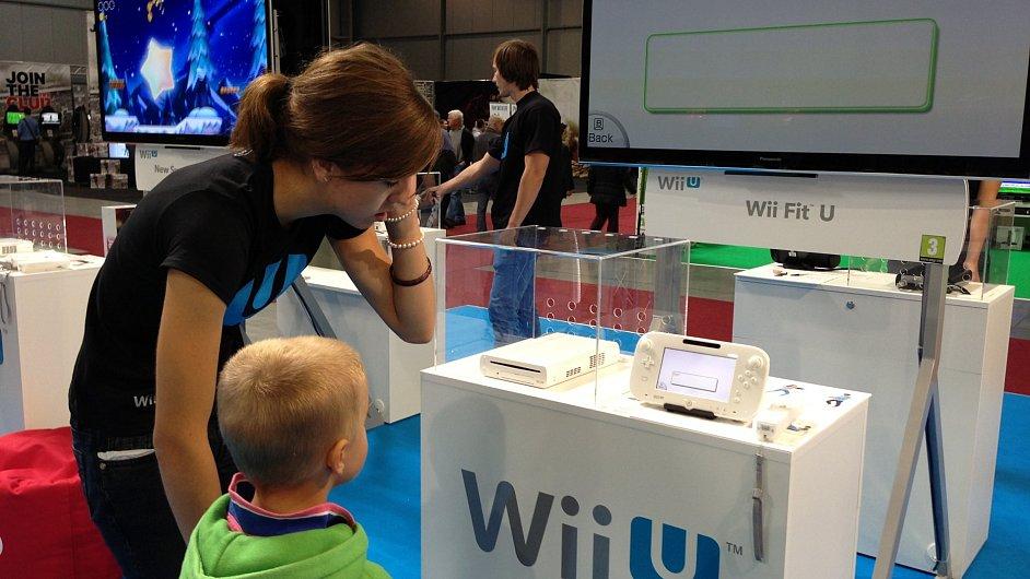 Nintendo Wii U láká i malé děti
