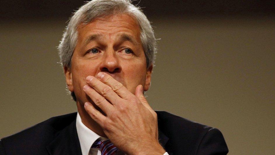 Jamie Dimon, šéf banky JPMorgan