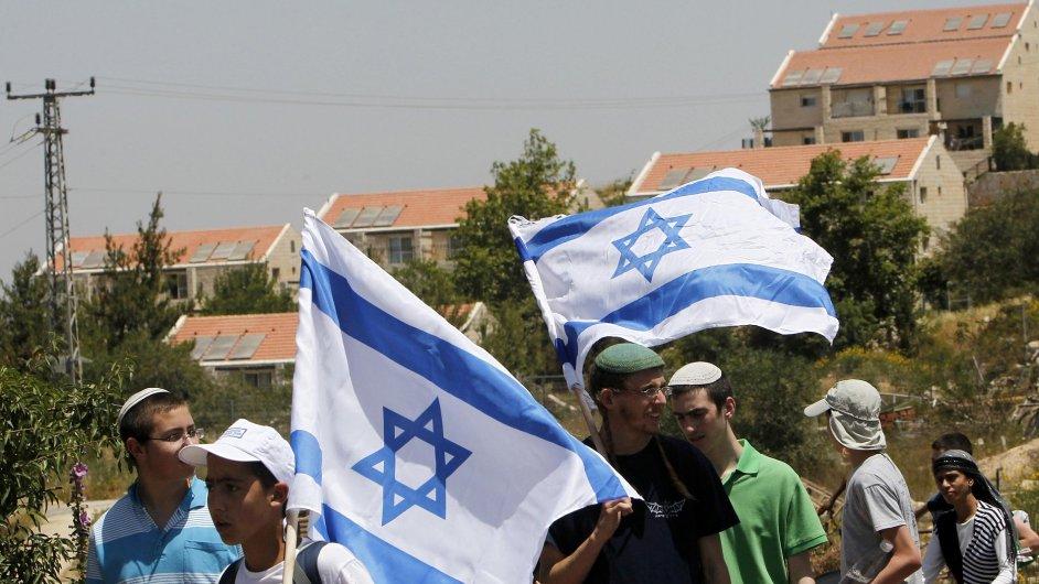 Obyvatelé osady Bejt El