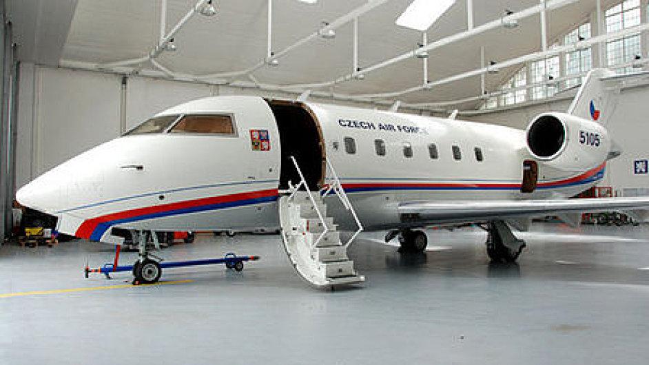 Dopravní letoun Challenger