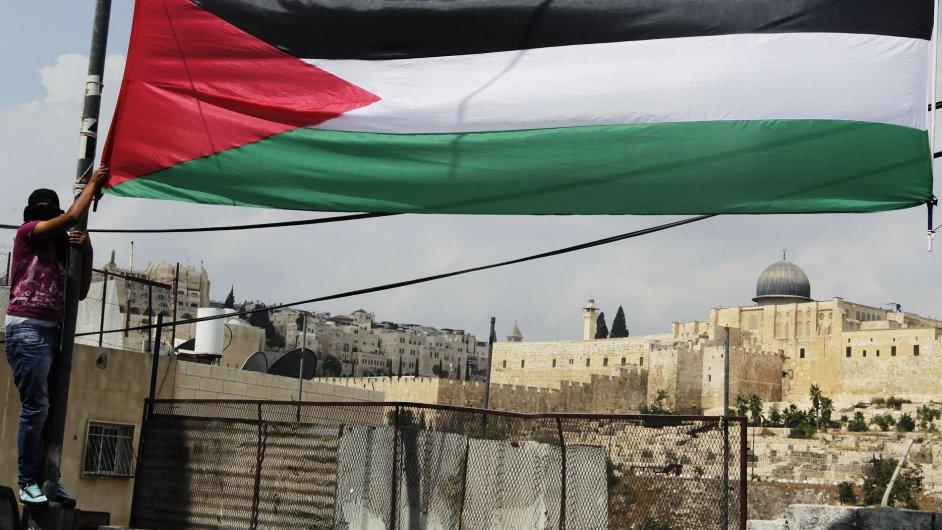 Ilustrační foto: palestinská vlajka
