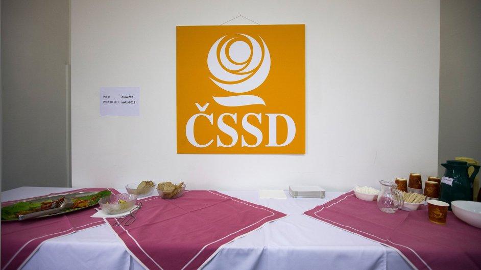 ČSSD, ilustrační foto