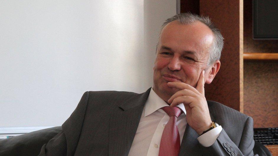 Generální ředitel Třineckých železáren Jan Czudek