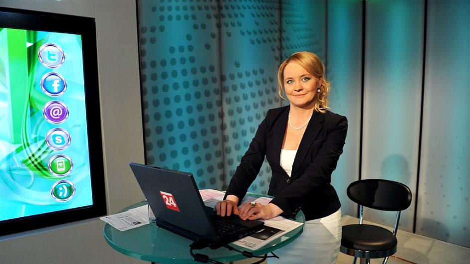 Pavlína Kvapilová, bývalá ředitelka divize ČT Nová média