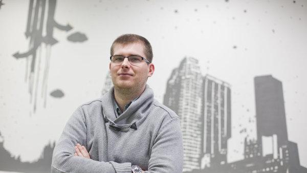 Zakladatel start-upu Jobote Tom� Hor��ek.