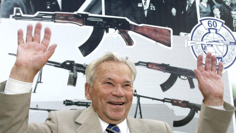 Michail Kalašnikov na snímku z roku 2007