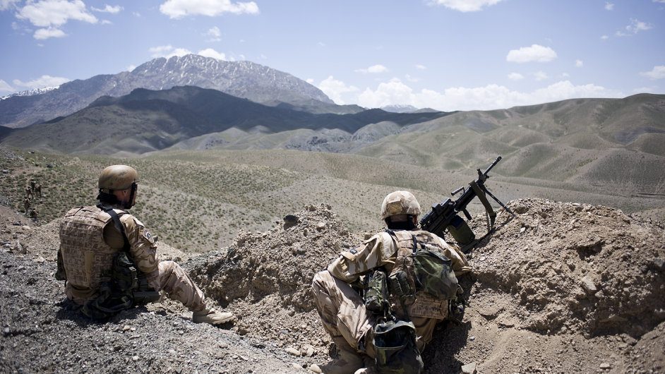 Češi v Afghánistánu.