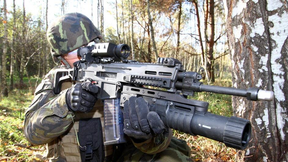 Útočná puška CZ 805 BREN