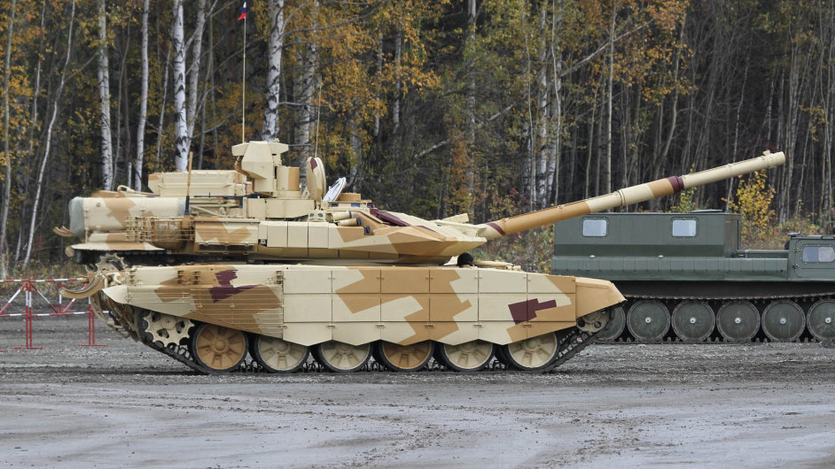 K nejžádanějším zbraním pro pozemní síly patří modernizovaný ruský tank T-90 MS.