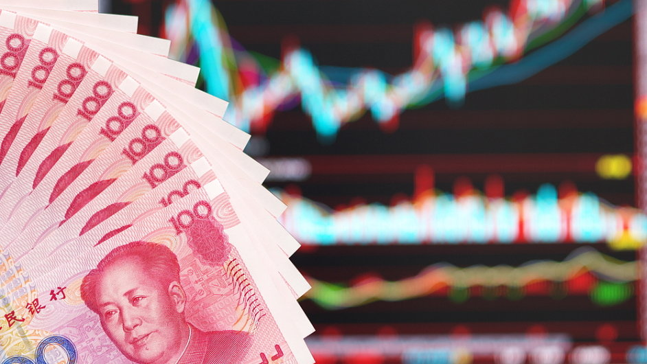 Čínský akciový trh (ilustrační foto)