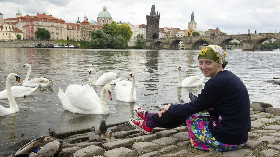 Aktivistka Lucie Bittalová, která spouští kampaň na podporu prevence rakoviny děložního čípku.