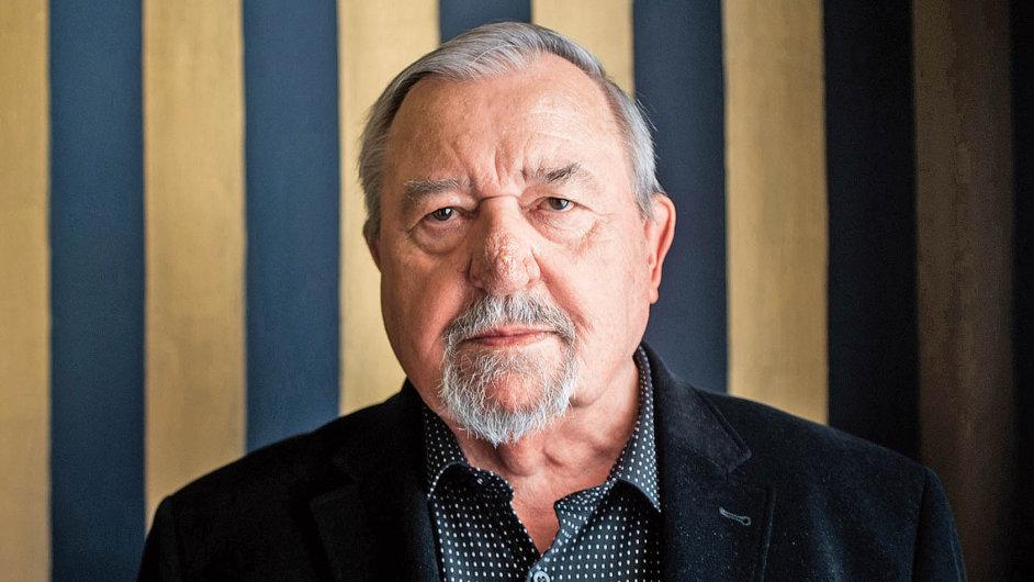 Na snímku historik František Šmahel.