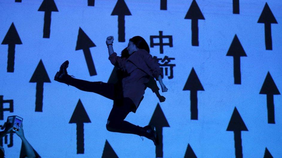 Snímky z instalace Miguela Chevaliera