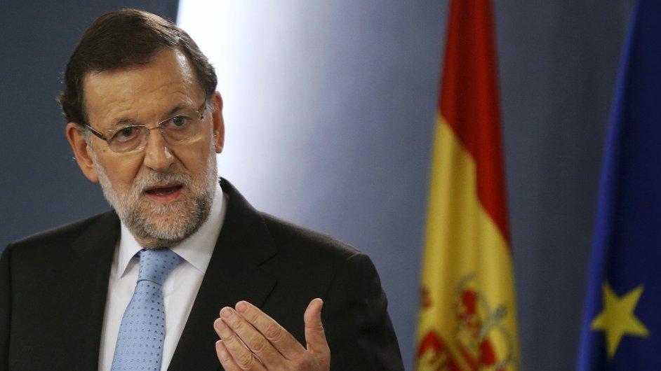 Španělský premiér Mariano Rajoy