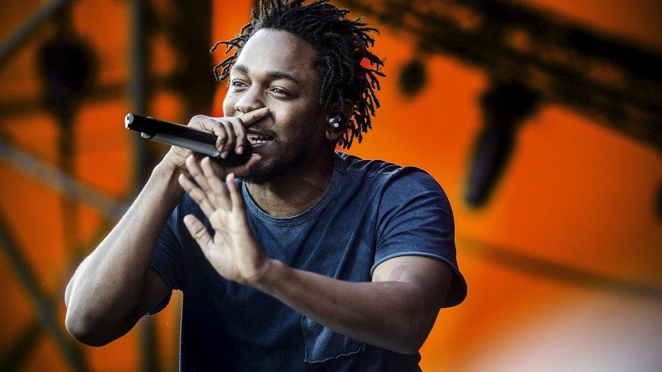 Kendrick Lamar na snímku z červencového vystoupení v dánském Roskilde.