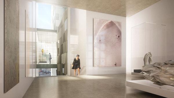Návrh Marockého kulturního centra v Paříži vytvořil architekt Tarik Oualalou.