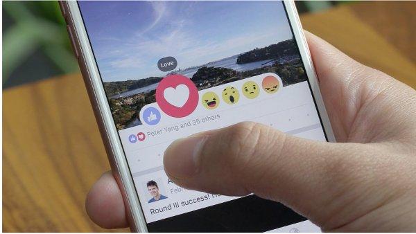 Facebook představil nové lajky