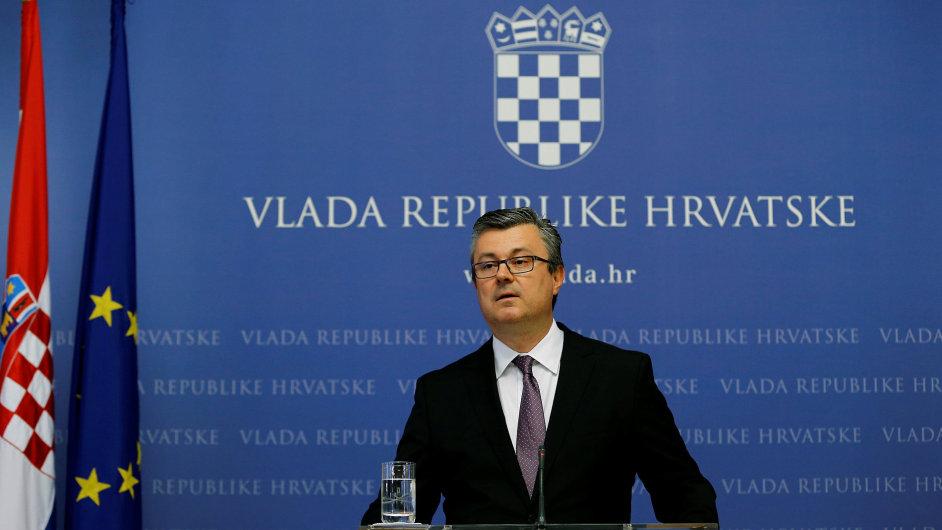 Chorvatský premiér Tihomir Oreškovič