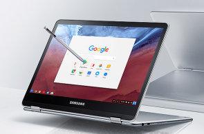 Samsung možná použije pera i procesory z Note 7 v novém chromebooku s otočným displejem