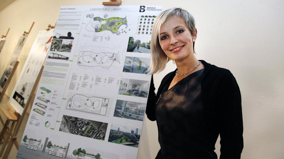 Stavba sice na břehu Temže nikdy nevyroste, absolventka architektury na liberecké Technické univerzitě se ale díky svému návrhu do Londýna podívá.