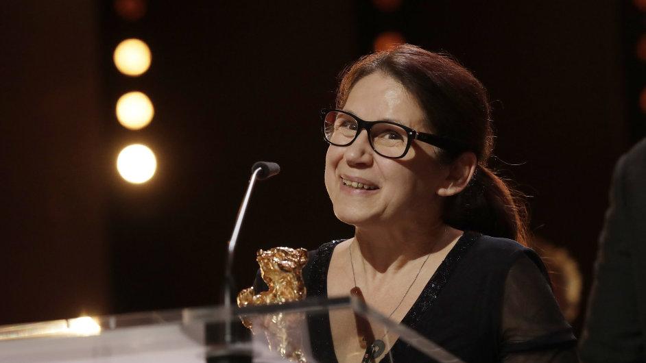 Zlatého medvěda v sobotu večer získal maďarský film On Body And Soul. Natočila jej režisérka Ildikó Enyediová (na snímku).