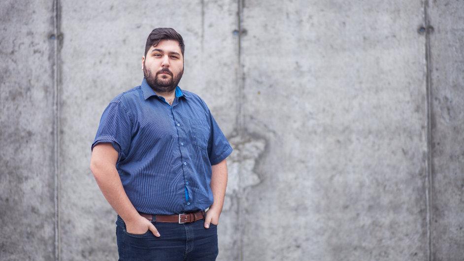 Amir Mamaghani, zakladatel start-upu Turing.