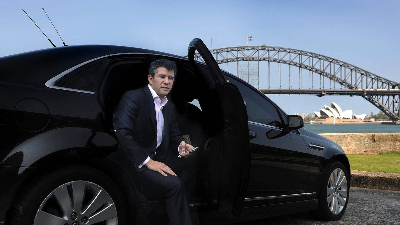 Zakladatel služby Uber Travis Kalanick
