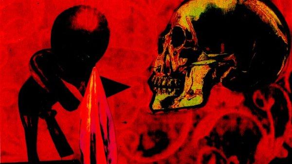 Snímek z výstavy Stefana Milkova.