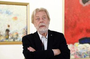 Herec a výtvarník Kanyza slaví sedmdesátiny, vystavuje své obrazy inspirované francouzskou Provence