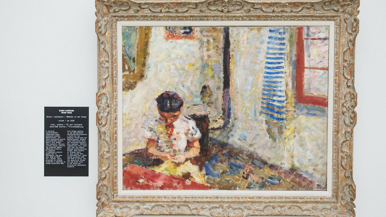 Snímek z výstavy v Liberci.