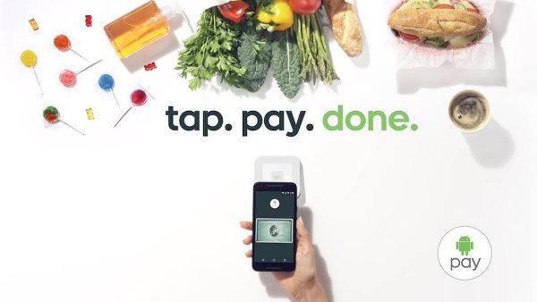 Android Pay představuje moderní mobilní platby v obchodech i na internetu