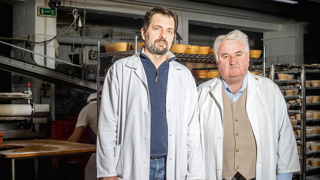 Milan Čupka (vpravo) se synem Rastislavem.
