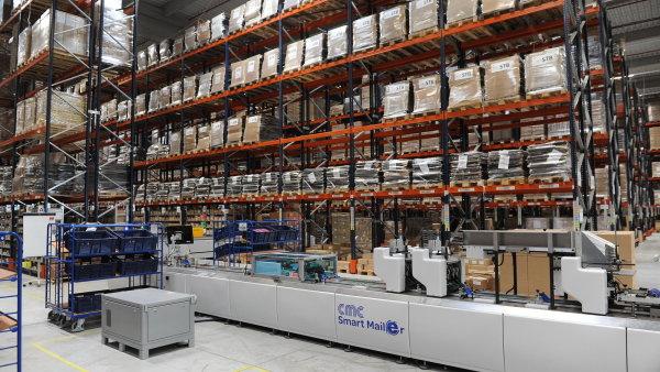 Logistické centrum DHL v Chebu je v provozu od roku 2016.