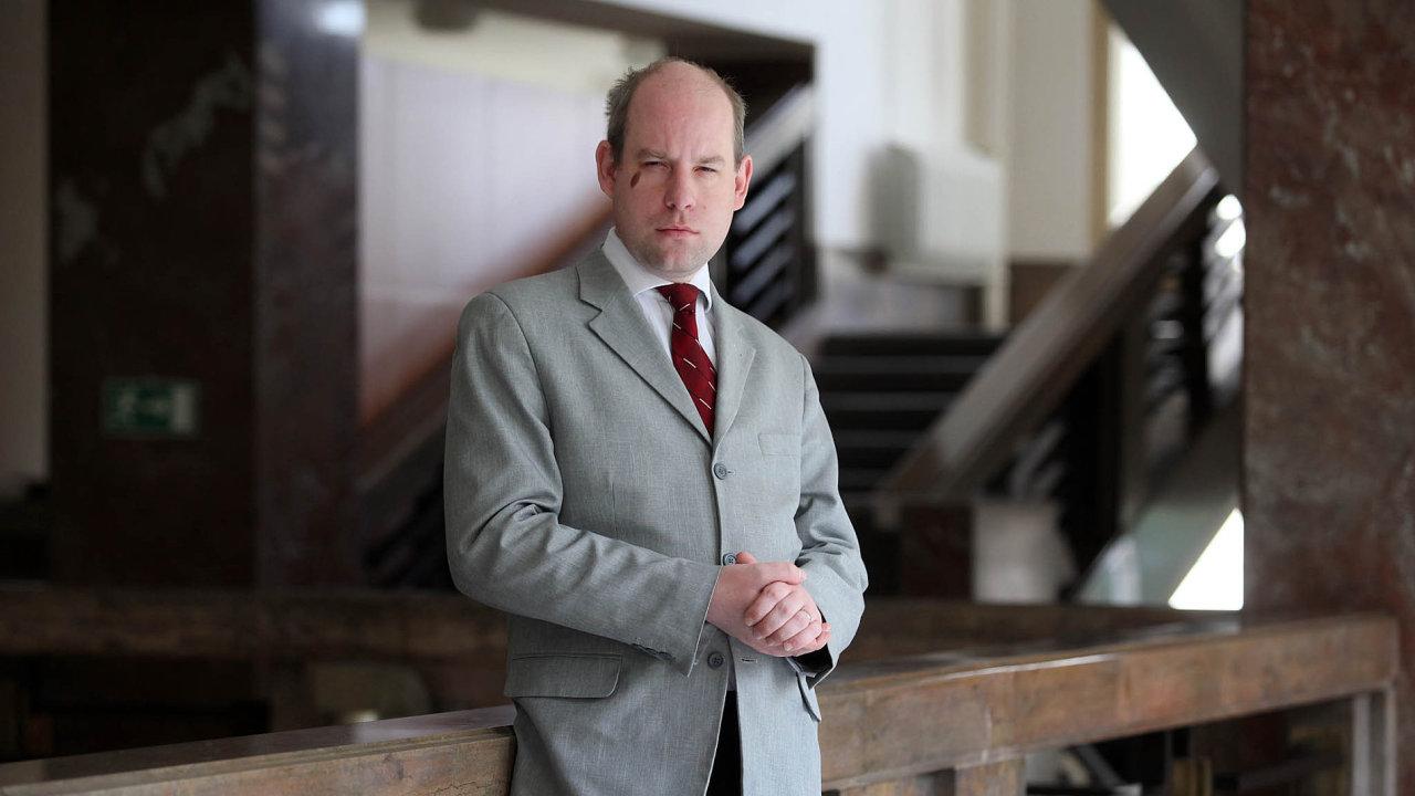 Ondřej Závodský, bývalý náměstek na ministerstvu financí, šéf sekce pro majetek státu