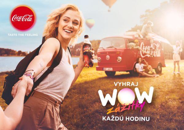 Emma Drobná v kampani Coca-Coly