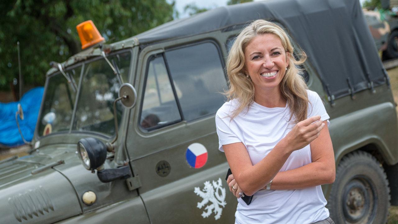 Ředitelka zdravotnické společnosti Synlab Kateřina Bílly Danyšová