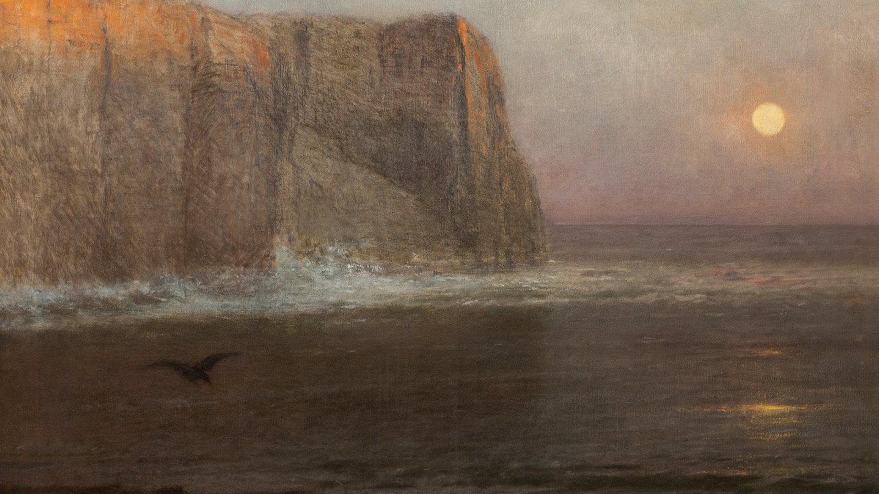 Tiché moře (detail)