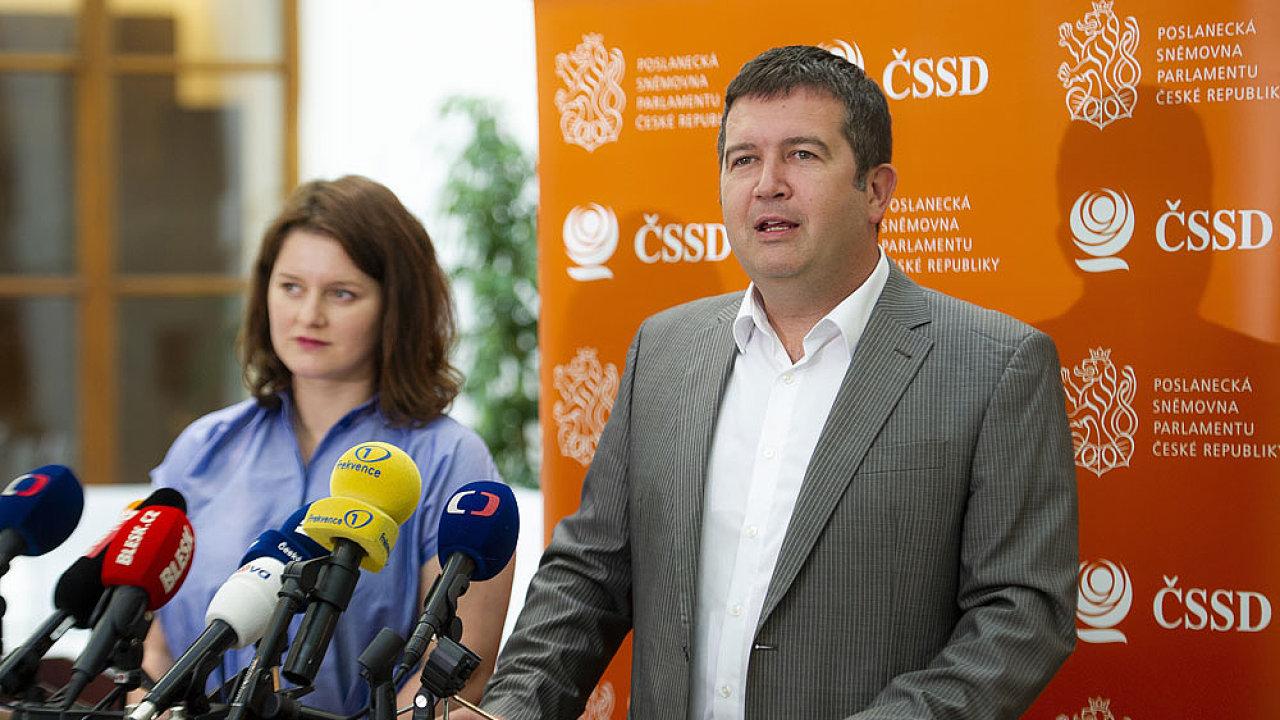 Jan Hamáček, předseda ČSSD