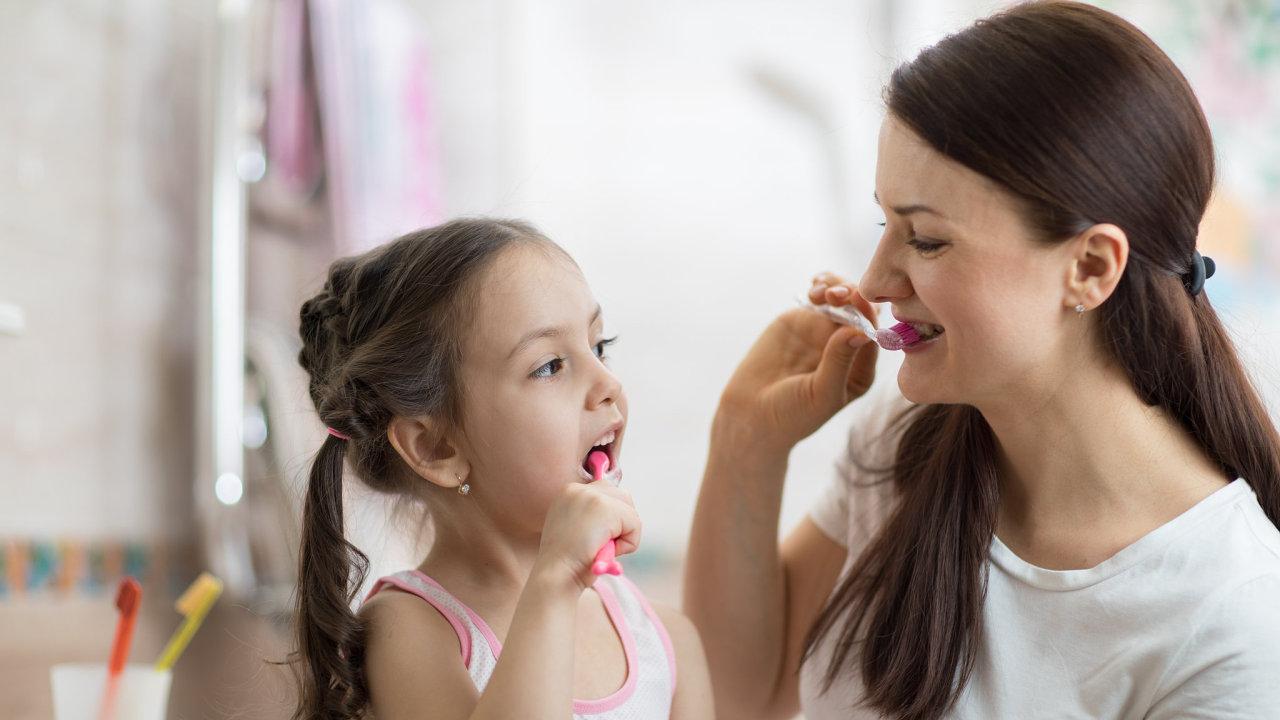 Přes 10 procent populace nemá zubní kazy - Ilustrační foto.
